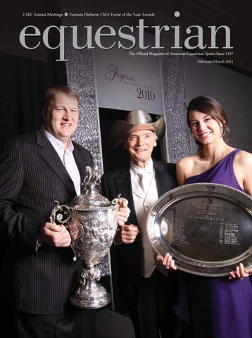 February / March equestrian magazine by United States