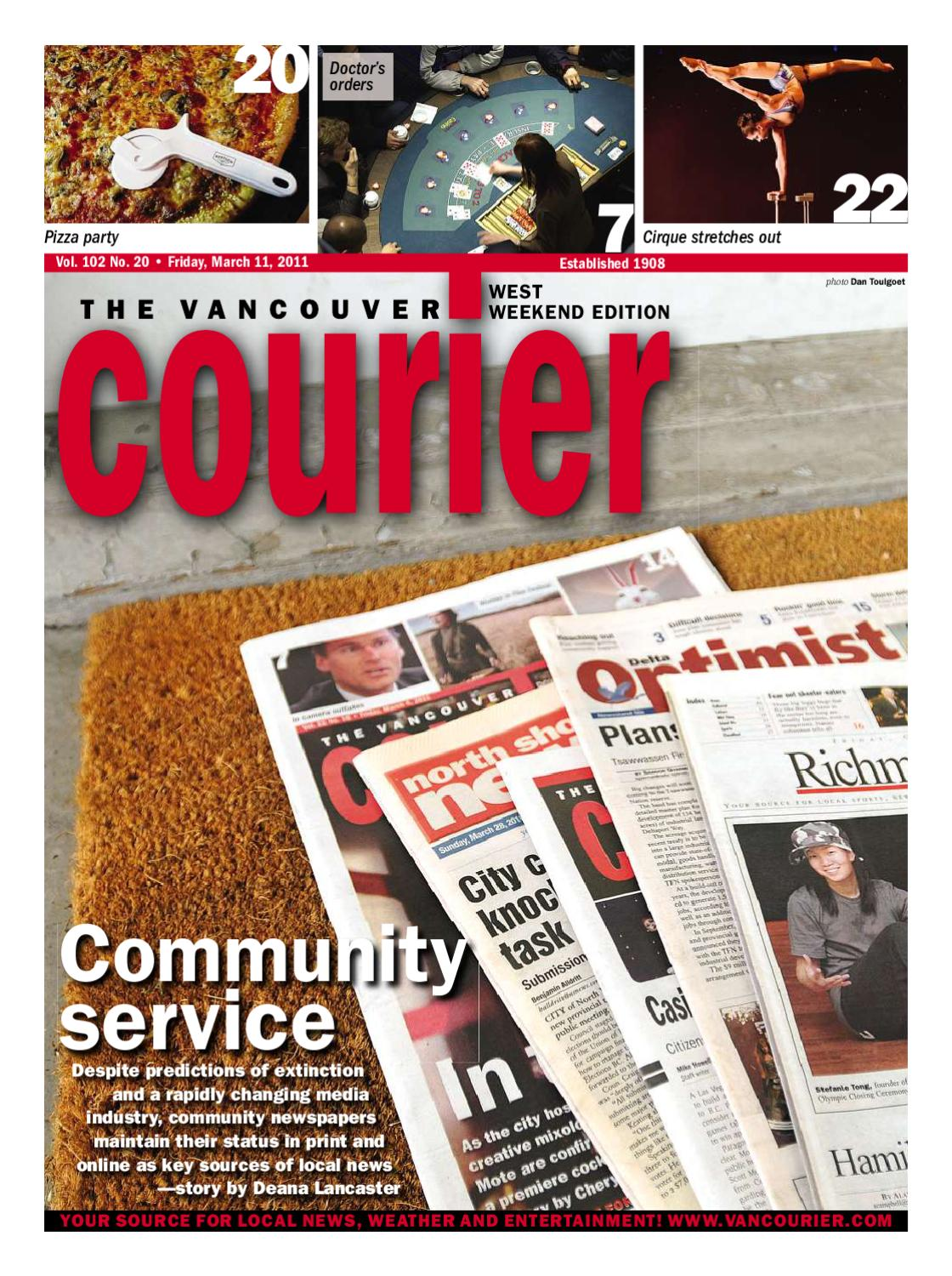 Vancouver Courier March 11 2011 by Postmedia Community
