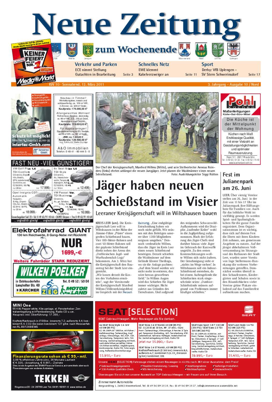 Neue Zeitung Ausgabe Nord Kw10 By Gerhard Verlag Gmbh Issuu