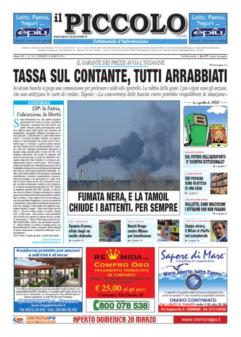 Il Piccolo Giornale di Cremona by promedia promedia - issuu 9dd2368a643c