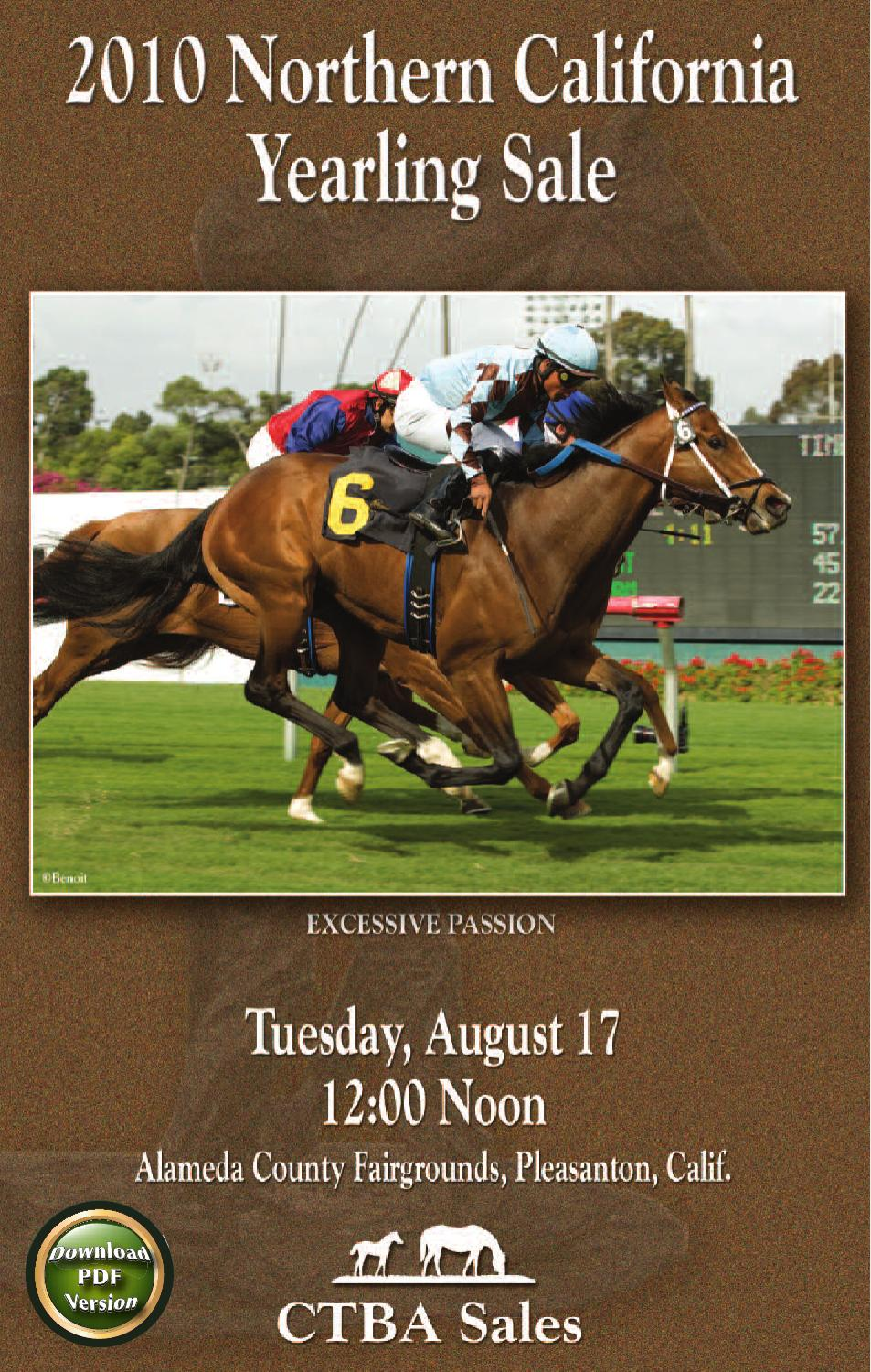 3dd8c72082ce2 2010 CTBA Sales Northern California Yearling Sale by CTBA - issuu