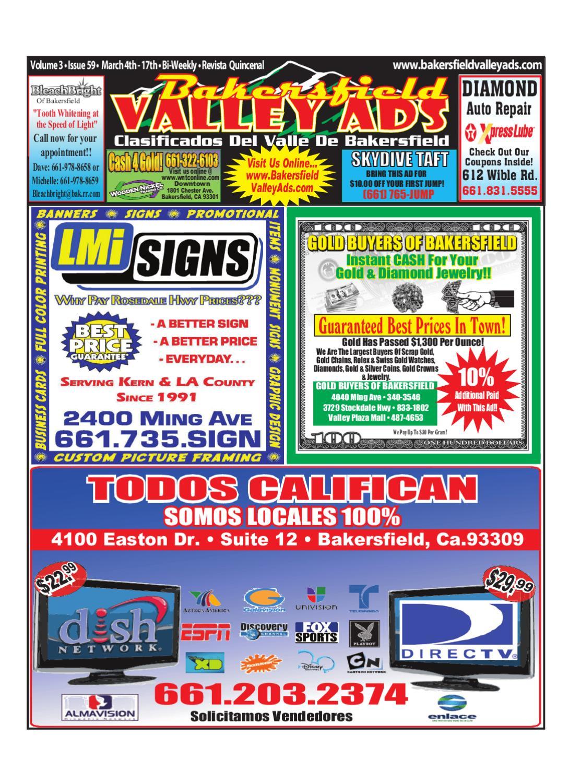Bakersfield Valley Ads by Bakersfield Valley Ads - issuu