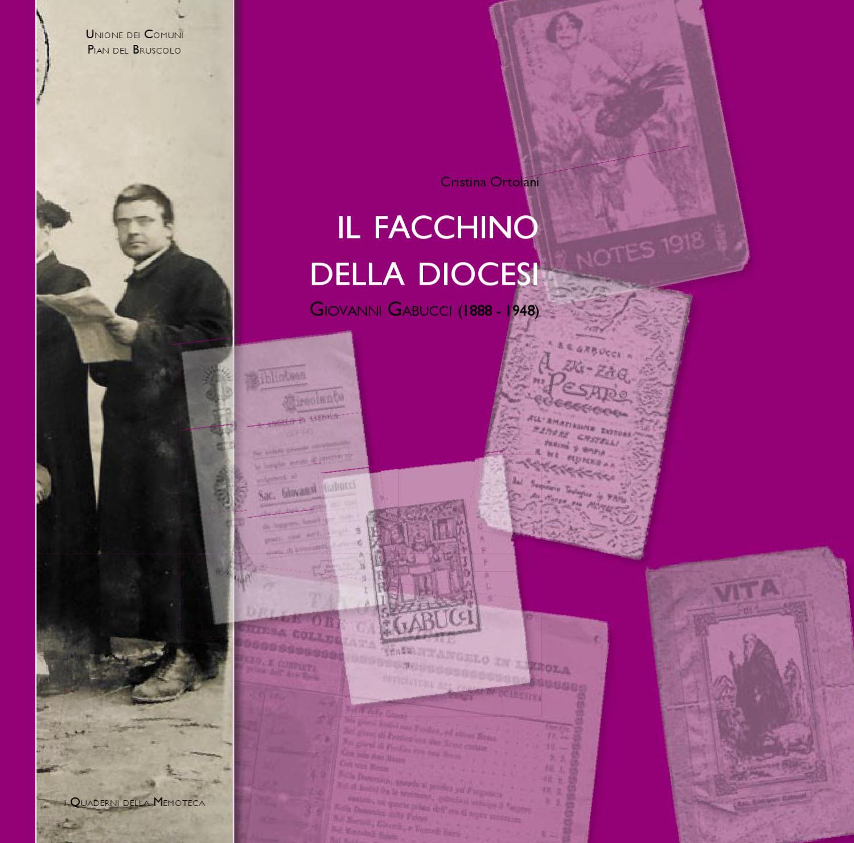 Il facchino della diocesi. Giovanni Gabucci (1888-1948) by Cristina ... 1b2eeedc7a0