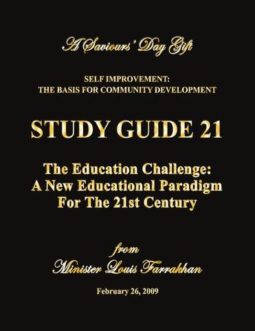 study guide 21 by rodger xcrawford issuu rh issuu com Minister Farrakhan Speech Minister Farrakhan Speech