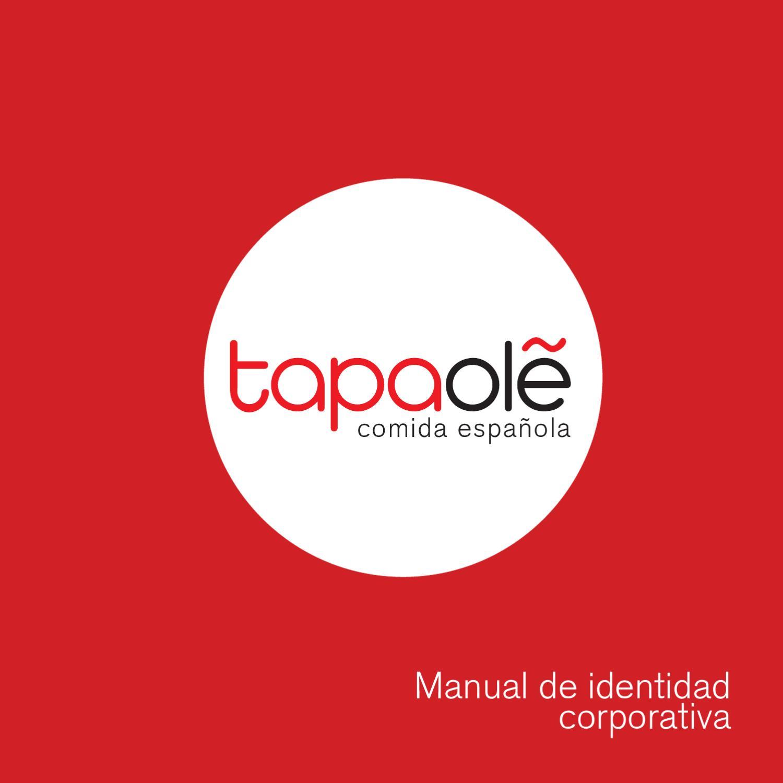 Manual corporativo tapaol by elena gonzalo montes issuu for Manual de restaurante pdf