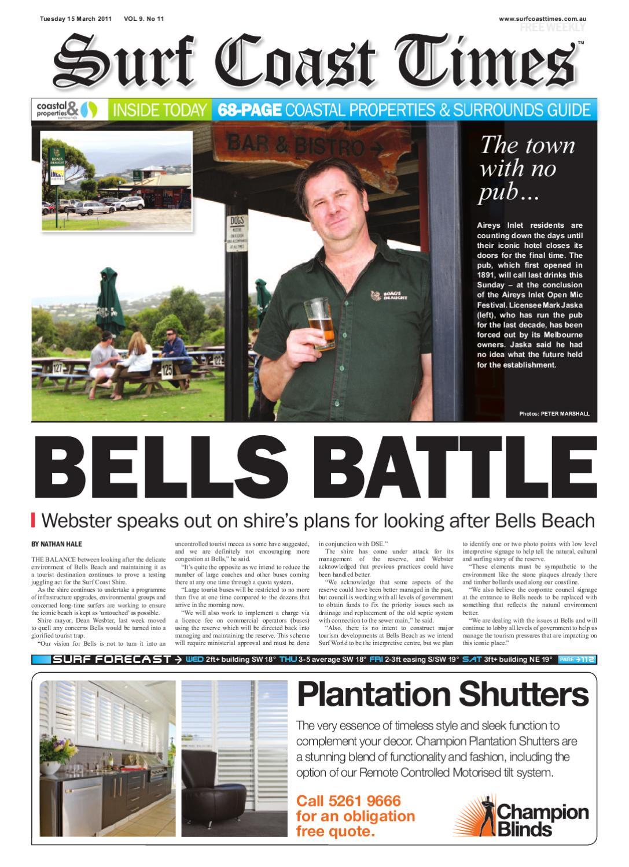 Surf Coast Times Mar 10 by Surf Coast News Australia Pty Ltd   issuu