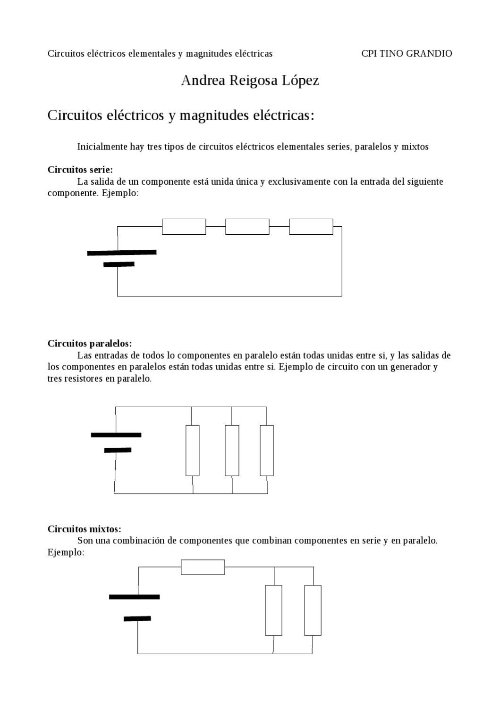 Circuito Seri E Paralelo : Circuitos eléctricos by saavedra martínez issuu