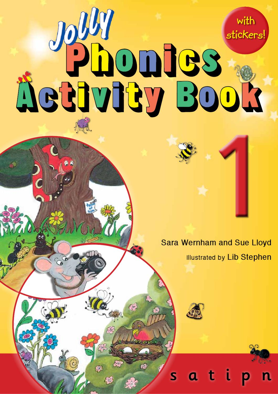 jolly phonics activity book 1 by jolly learning
