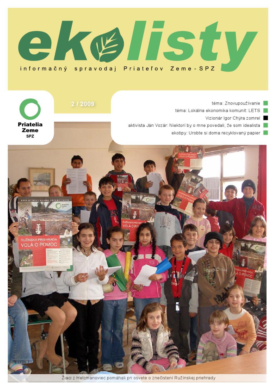 ekolisty 2009-02 by Priatelia Zeme Spz - issuu d2f3a585976