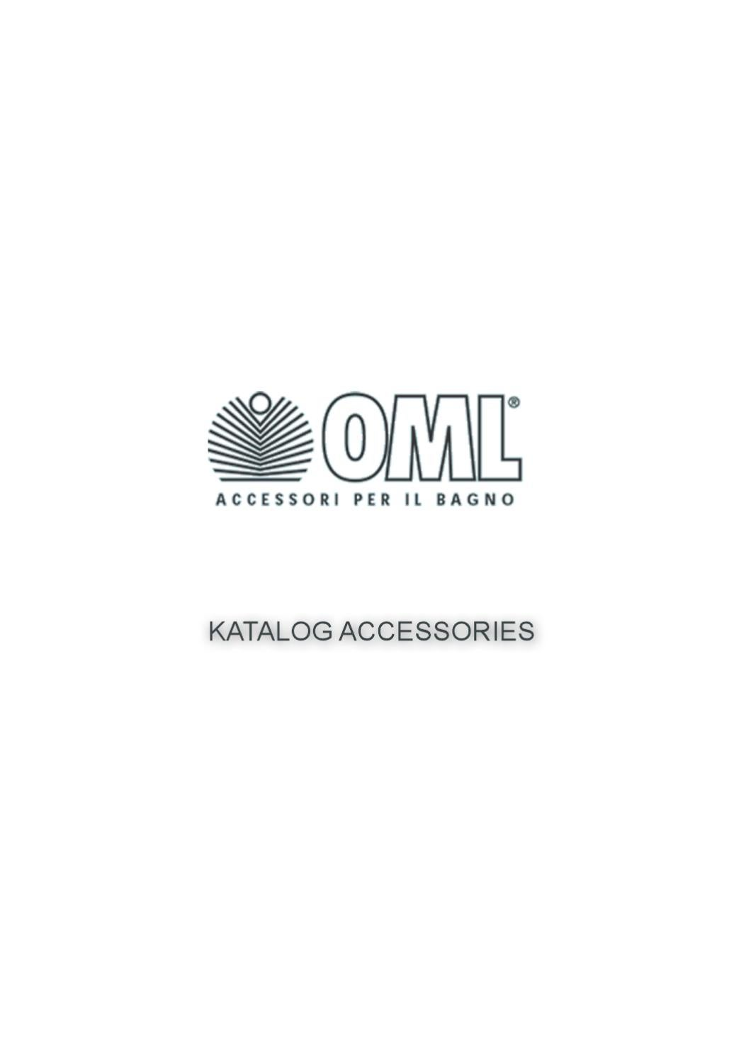Oml Accessori Bagno Prezzi.Oml Accessories By Prodomus Issuu