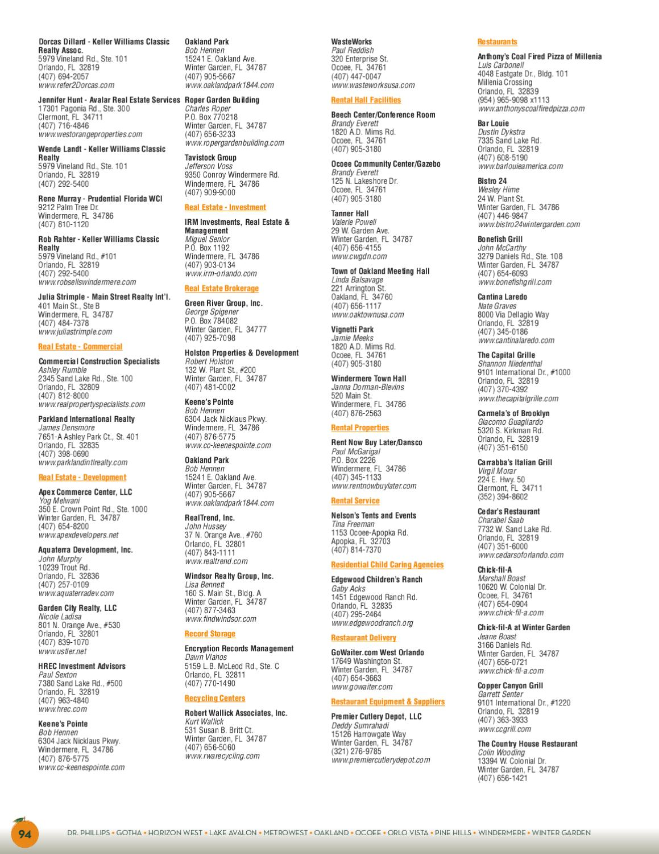West Orange Fl Community Profile By Townsquare Publications Llc Issuu