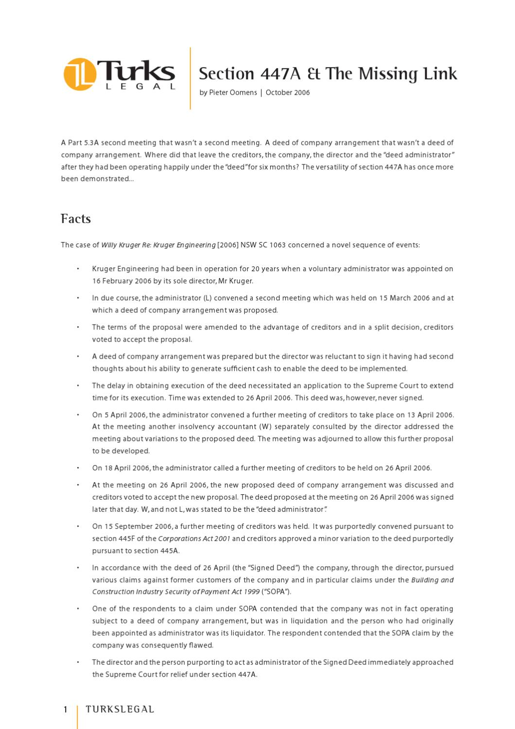 Section 447A & The Missing Link by TurksLegal - issuu
