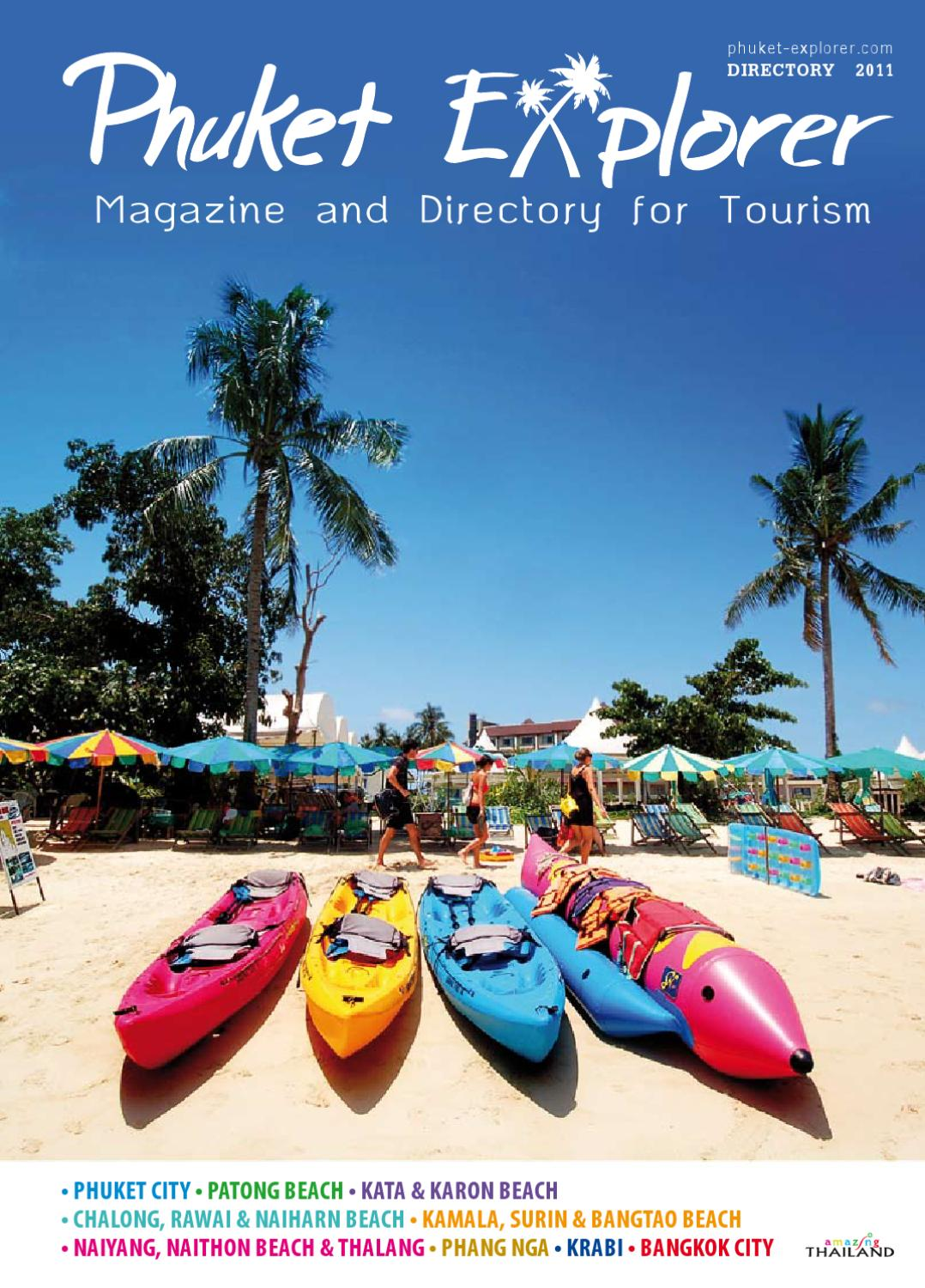 Phuket Explorer Issue 4 Directory by Born to be - issuu