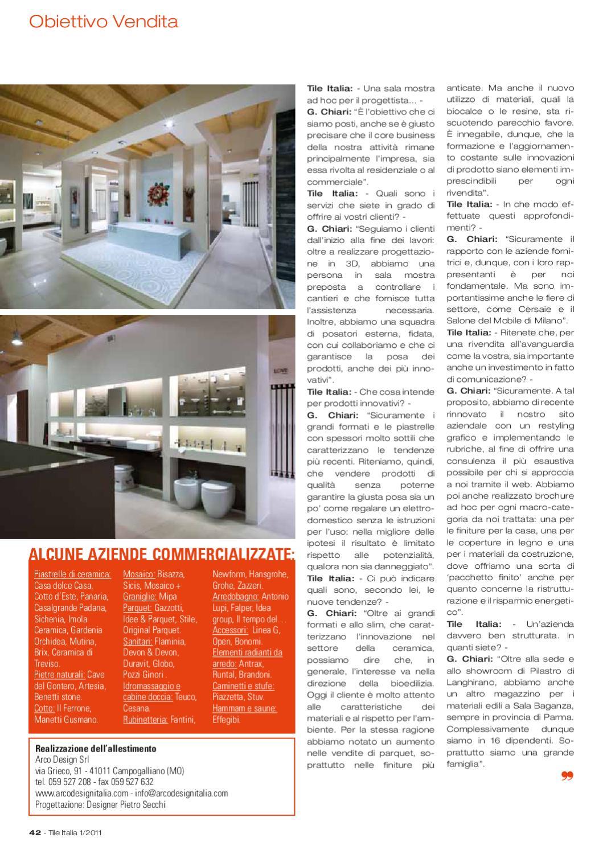 Arco Design Campogalliano.Tile Italia 1 2011 By Tile Edizioni Issuu