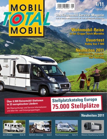 mobil total 01/2011 by nk-design - issuu, Hause ideen