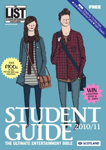 The List Student Guide By The List Ltd Issuu