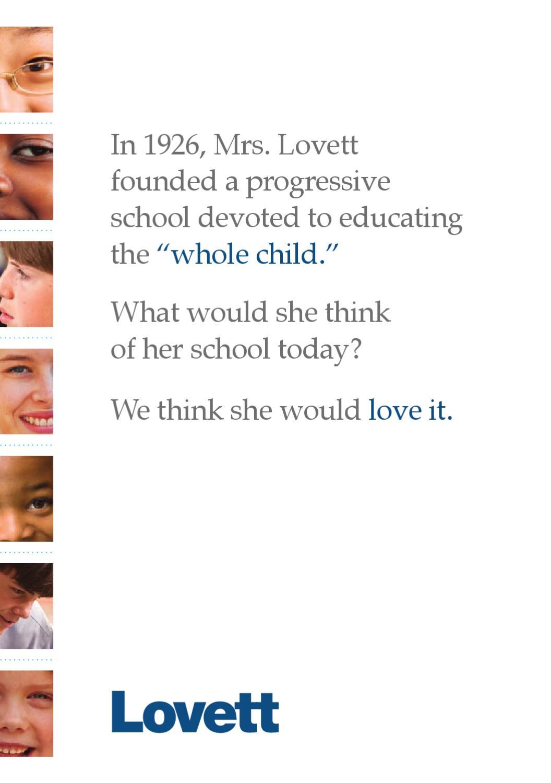 The Lovett School Viewbook