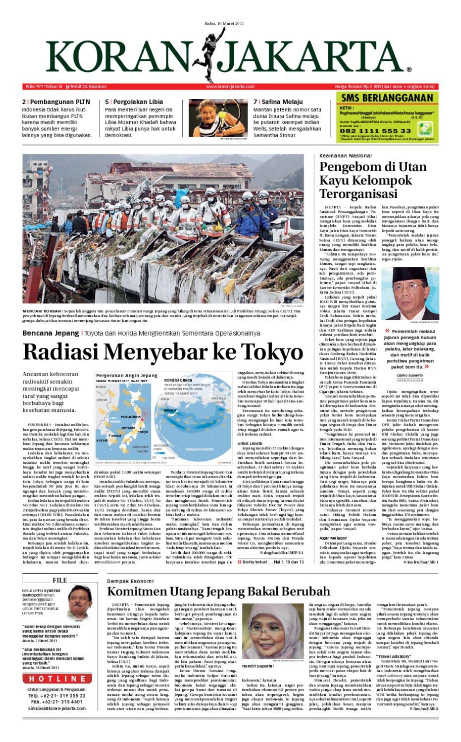 Edisi 977 16 Maret 2011 By Pt Berita Nusantara Issuu Produk Ukm Bumn Bunge Tanjung Betabur