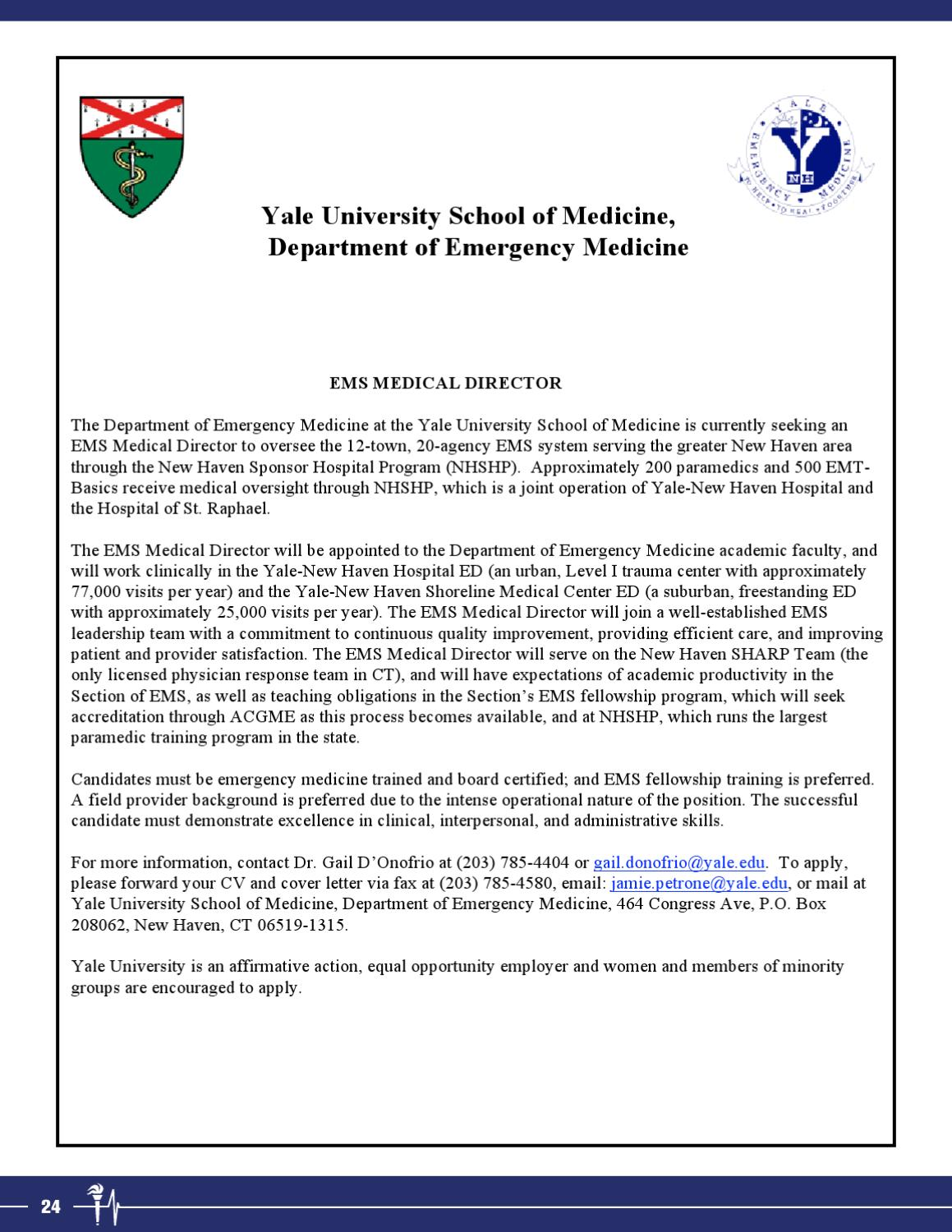 Stunning Ems Medical Director Cover Letter Ideas - New Coloring ...