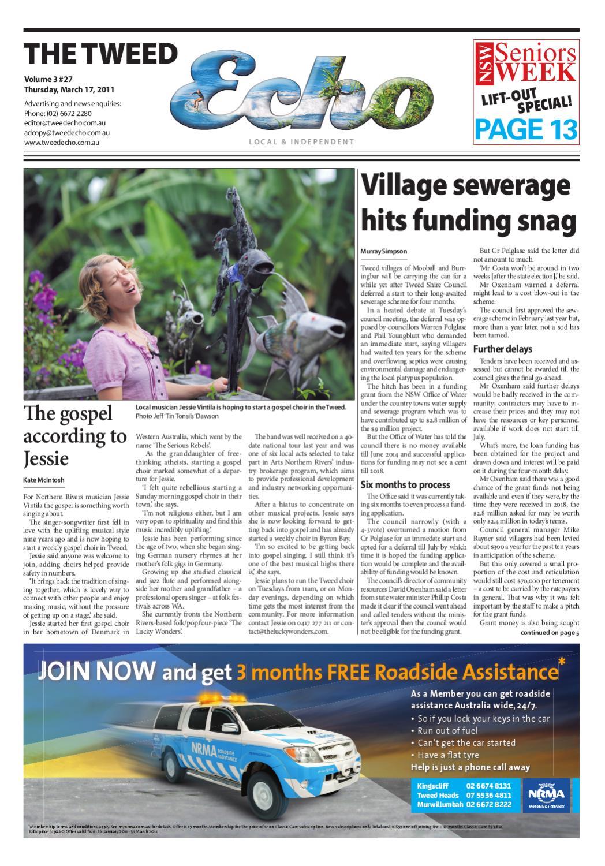 Tweed Echo – Issue 3.27 – 17/03/2011 by Echo Publications - issuu