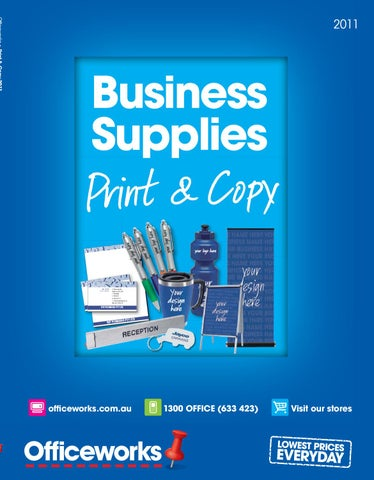 Officeworks Print Copy Catalogue
