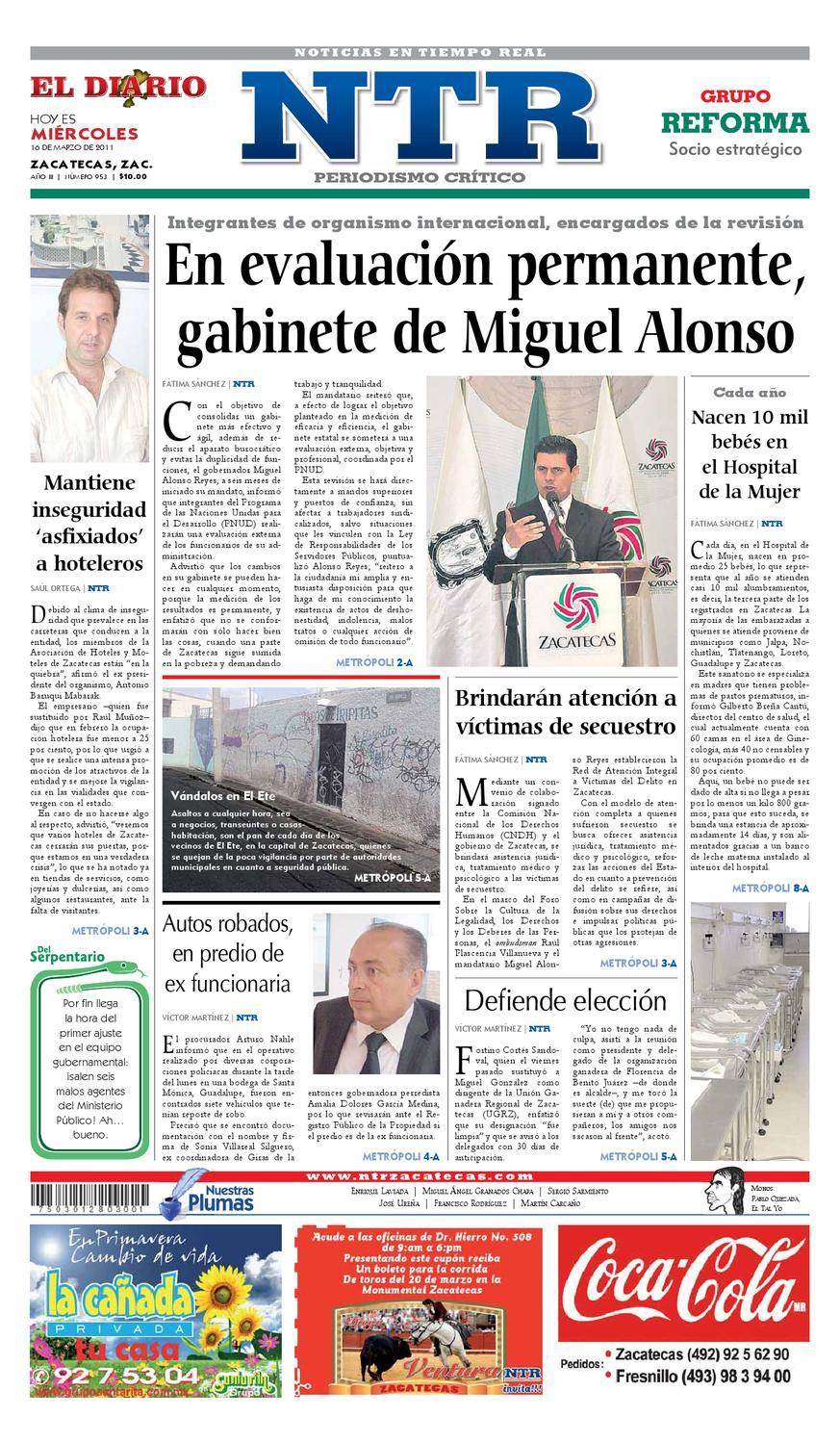 El Diario NTR by NTR Medios de Comunicación - issuu 8e677f67696