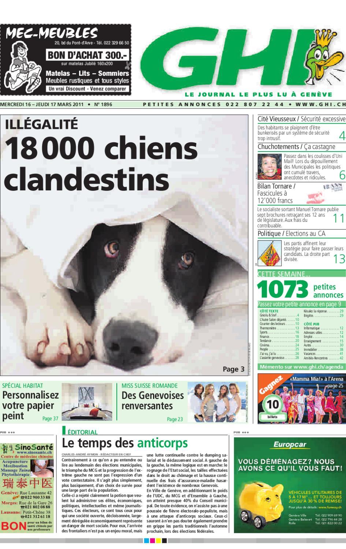 L entier du GHI du 17 mars 2011 by GHI   Lausanne Cités - issuu c6119b90653a