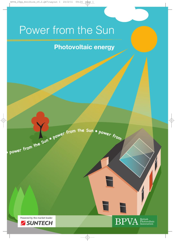 Power from the Sun by Nicola Lathom - issuu