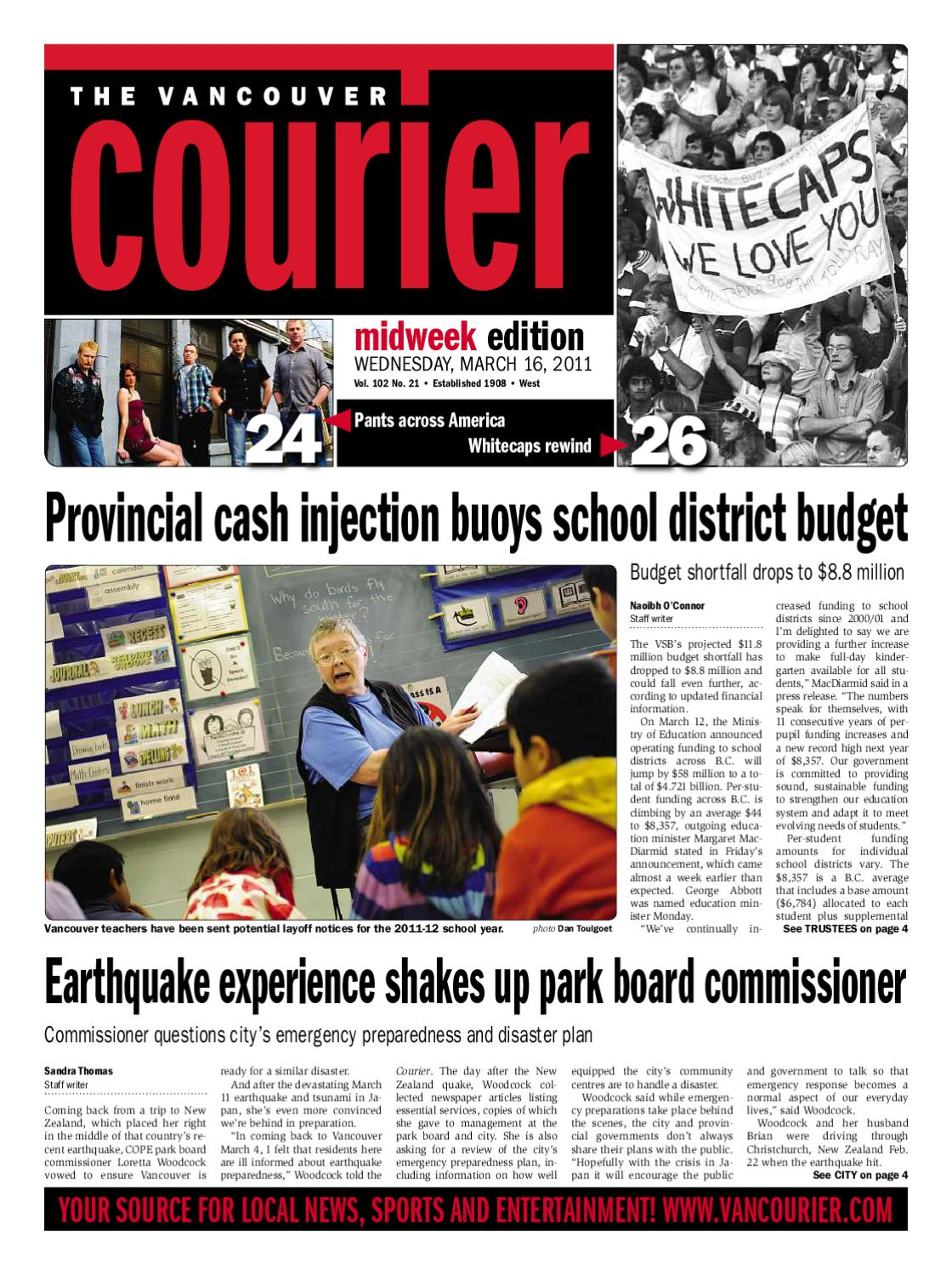 Vancouver Courier March 16 2011 by Postmedia Community Publishing - issuu 39a715ca0a