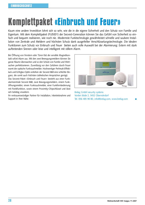 brelag sicherheitsanlagen by brelag systems gmbh issuu. Black Bedroom Furniture Sets. Home Design Ideas