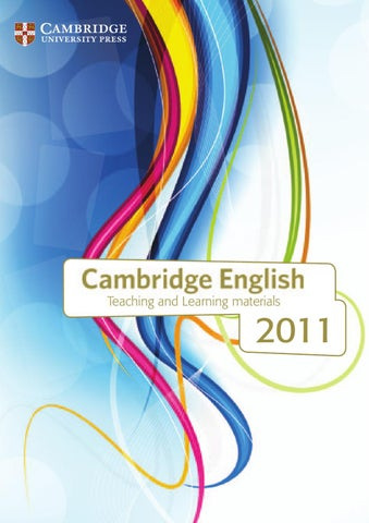 Cambridge elt catalogue 2011 by service dktoday issuu page 1 fandeluxe Gallery
