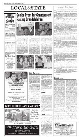 The Baton Rouge Weekly Press Week of March 10, 2011 by Derek