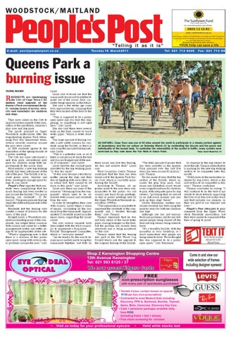 1468bc07b1 Peoples Post Woodstock-Maitland Edition 15-03-2011 by People s Post ...