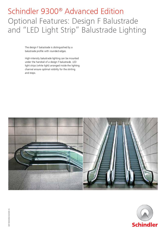 Bnl 9300 Advanced Options En 35146 By Schindler Benelux Issuu