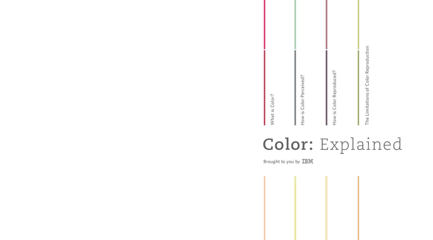 Color: Explained