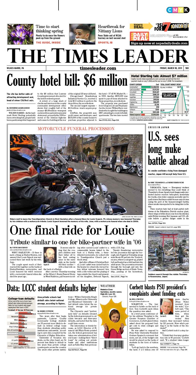 Times Leader 3 18 by The Wilkes Barre Publishing Company issuu