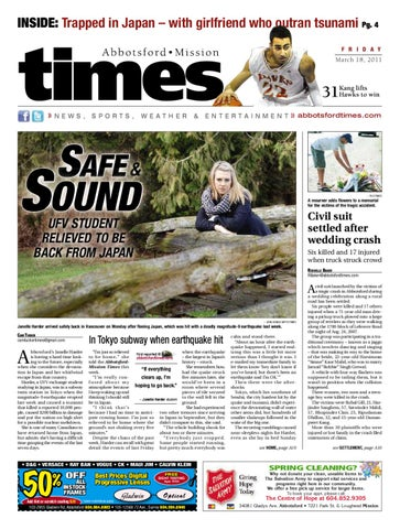 Abbotsford Times March 18 2011 By Postmedia Community Publishing