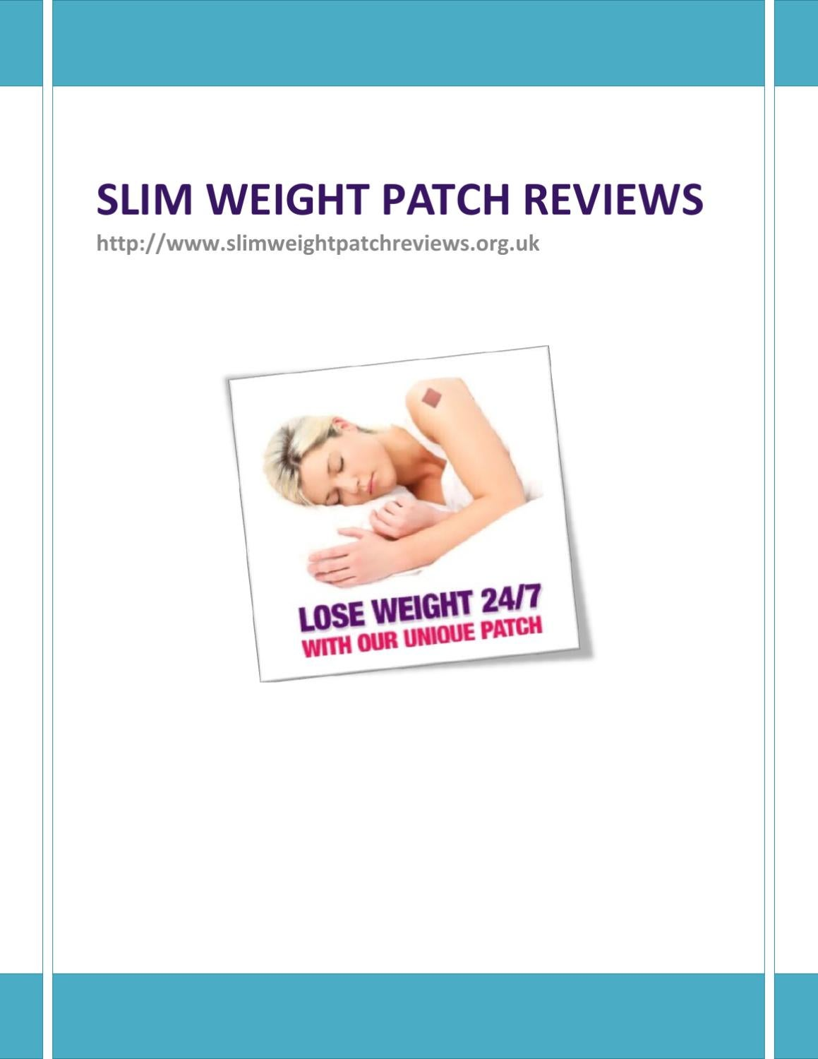 Slim Weight Patch Review By William Pablow Issuu
