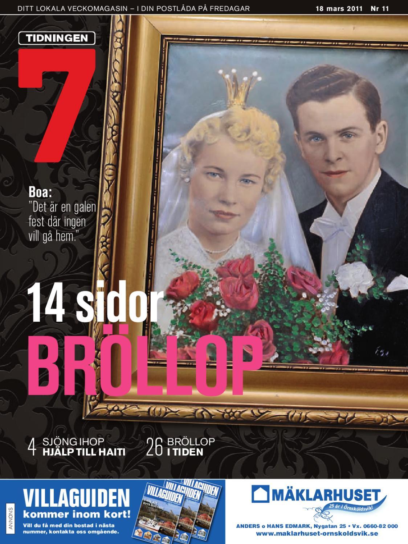 Tidningen 7 nr 11 2011 by 7an Mediapartner - issuu 1ea0c9f3a54e5