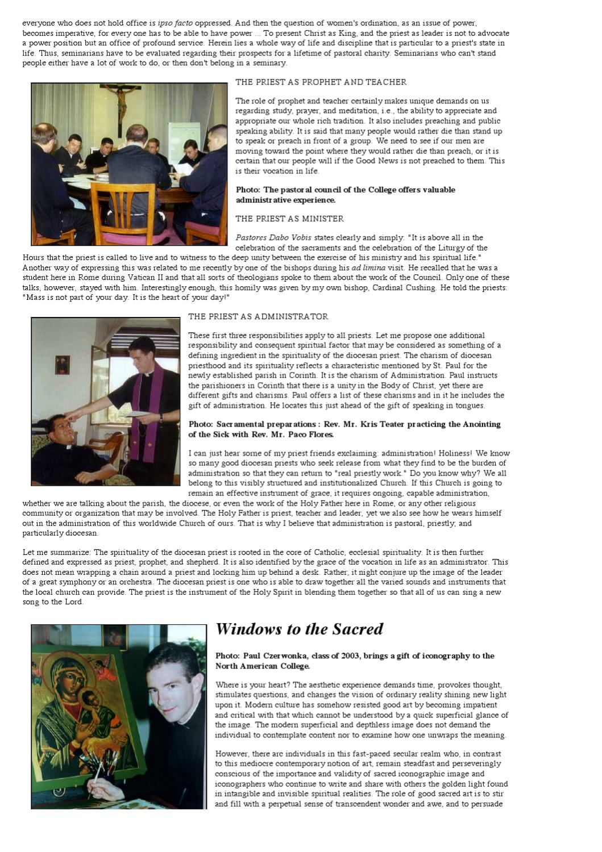 NAC Magazine: Spring-Summer 2000 by Pontifical North
