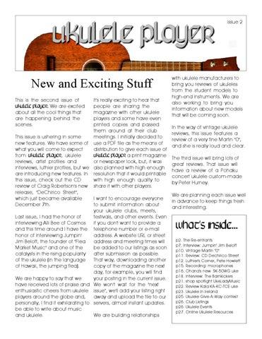 Ukulele Player Magazine 2 By Baanukulele Ukulele Issuu