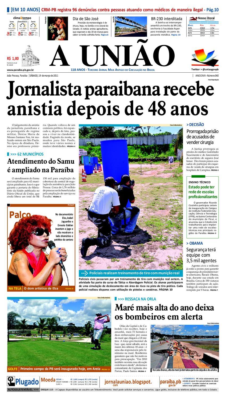 270b10d48556b Jornal A UNIÃO by Jornal A União - issuu