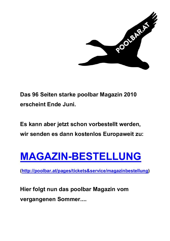 Big Mag 2009 by poolbar Kultur gGmbH - issuu