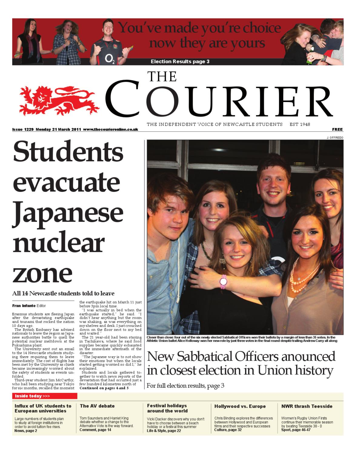 3445a50e41f The Courier 1229 by The Courier Online - issuu