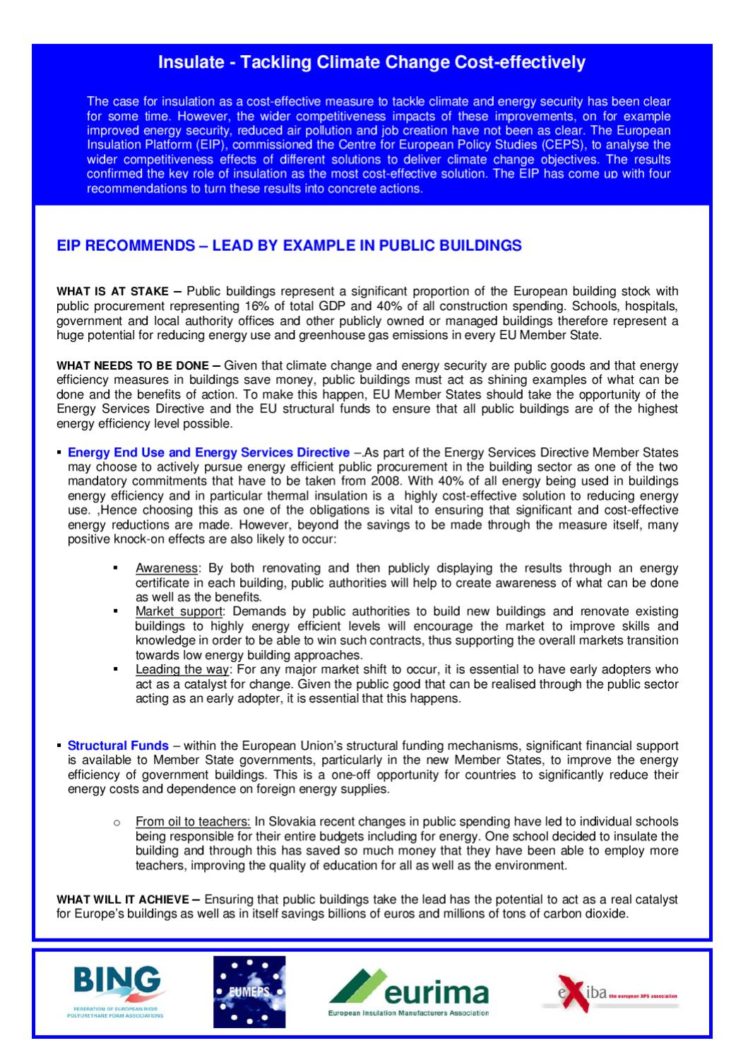 CEPS_fs__Insulat by Excellence-in-insulation - issuu