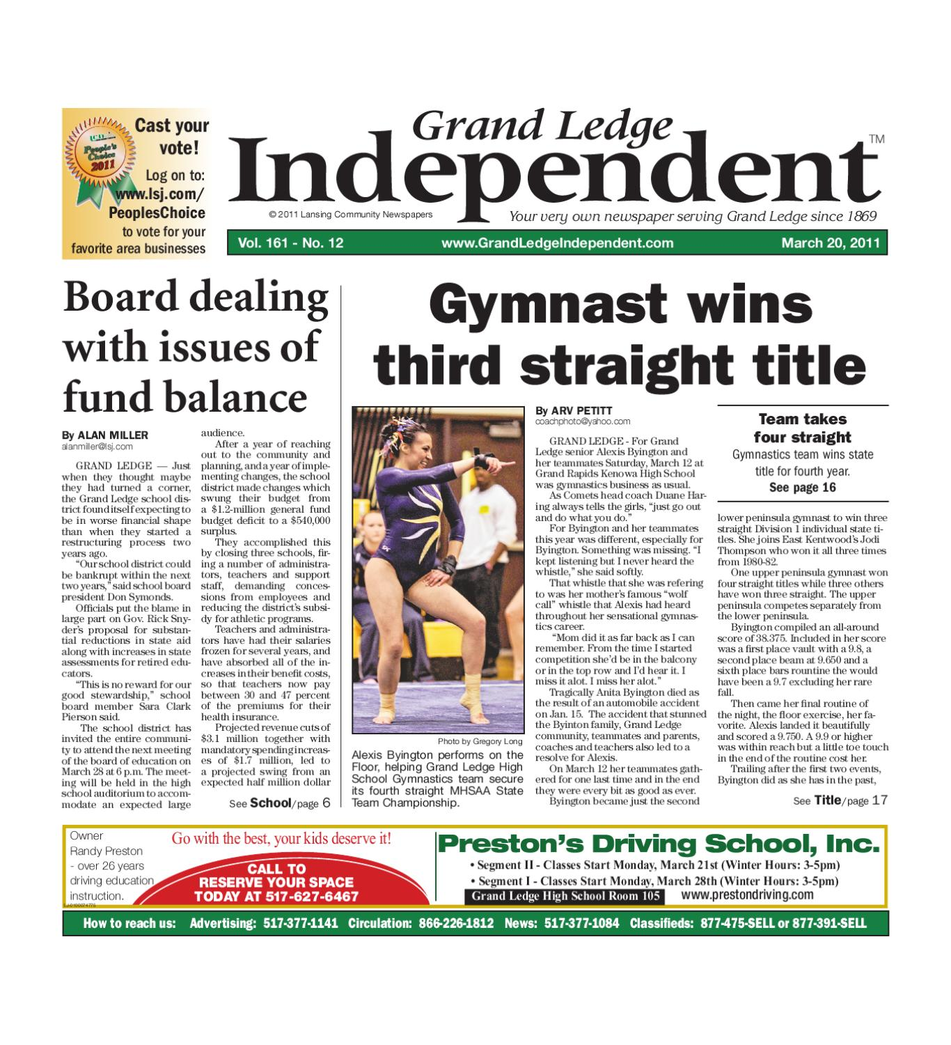 Grand Ledge Independent by Lansing State Journal - issuu 2095a46ebe869