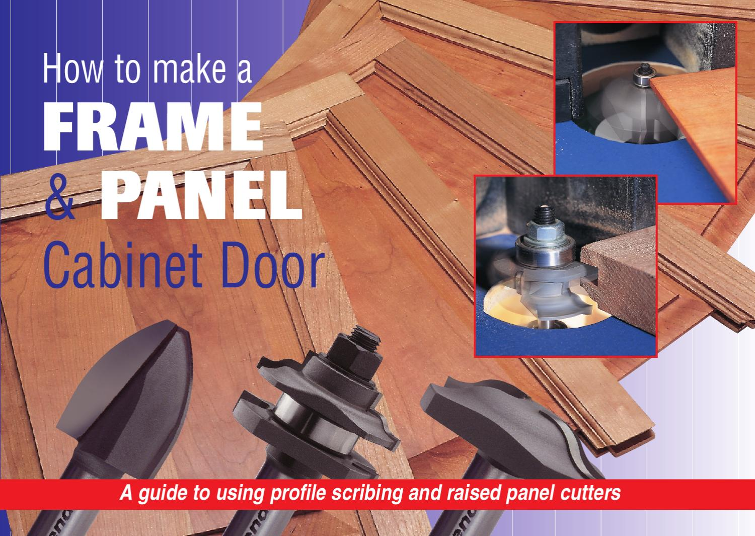 How To Make A Frame Panel Cabinet Door By Trend Issuu