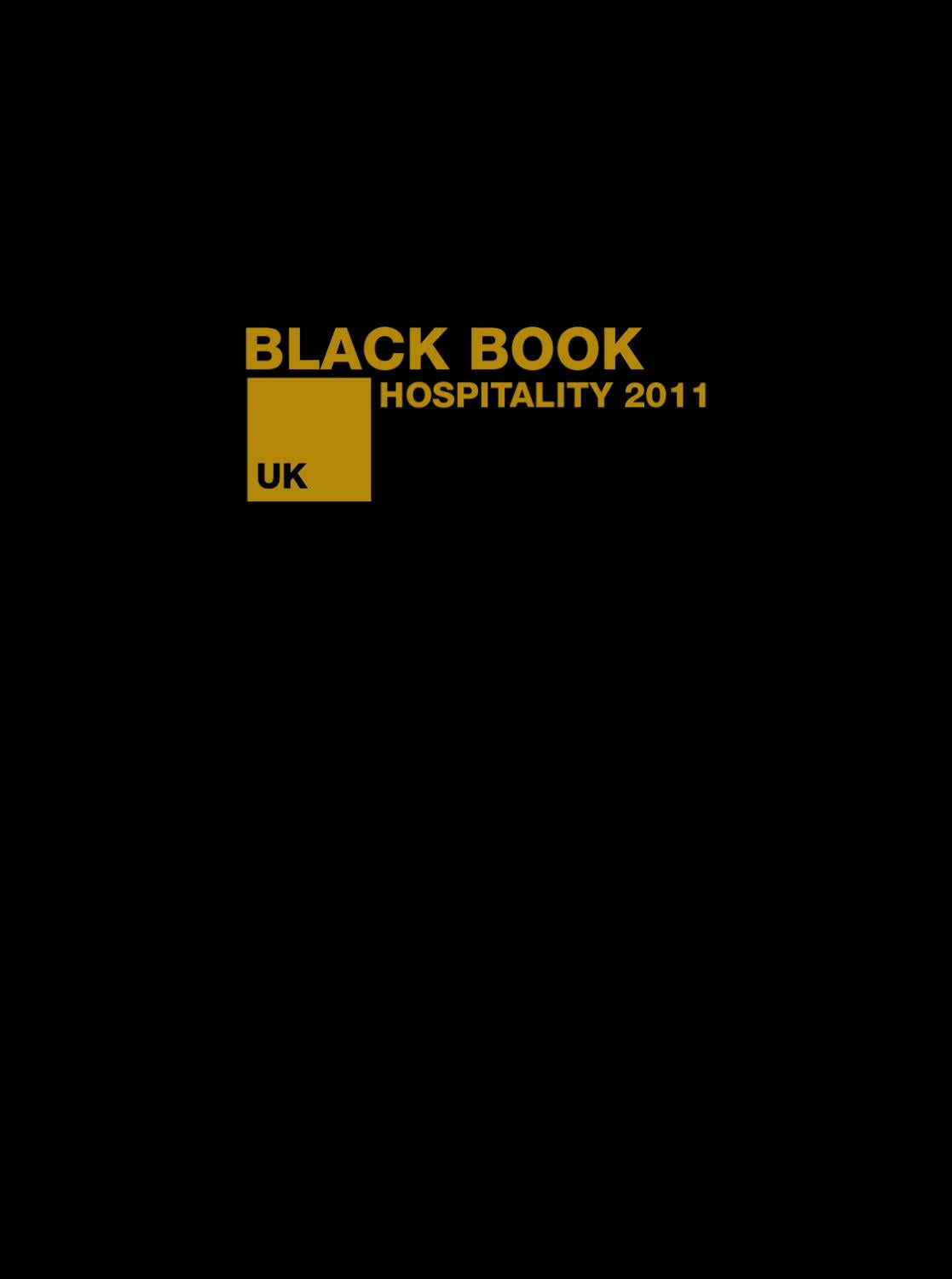Hospitality Black Book By Henley Media Group Issuu