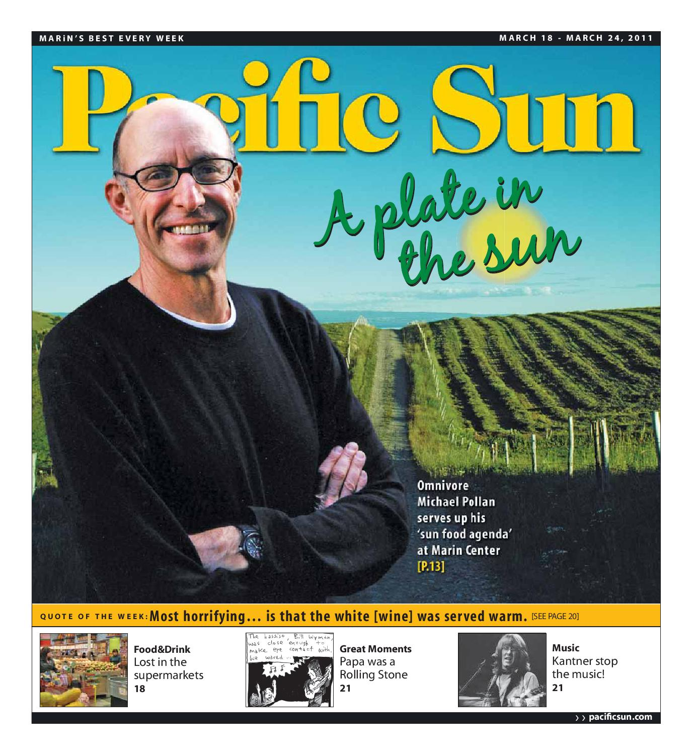 5db72a7f28 Pacific Sun Weekly 03.18.2011 - Section 1 by Pacific Sun - issuu