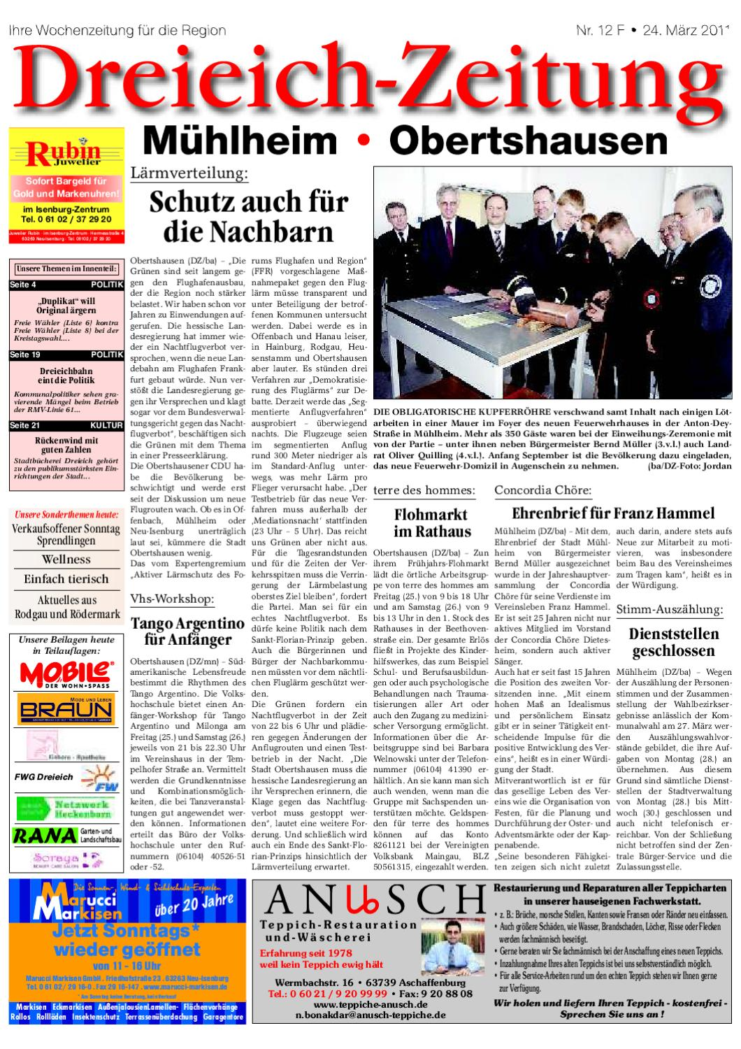 DZF 24-03-2011 by Dreieich-Zeitung/Offenbach-Journal - issuu